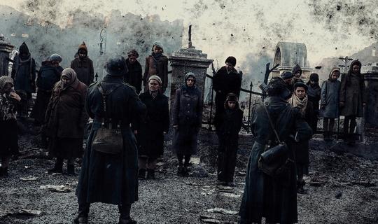 Один из эпизодов фильма Сталинград 2013